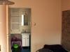 Pokój fioletowy wejście do toalety